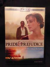 Pride & Prejudice DVD Jane Austin Classic Love Story Keira Knightley Judi Dench
