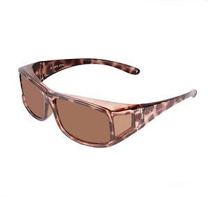 OVER GLASSES SUNGLASSES Womens Polarized Tortoiseshell, Fit Over. Rapid Eyewear