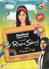 A.R.RAHMAN - RHYME SKOOL VOL. 1 WITH KATRINA KAIF - BOLLYWOOD CD - FREE UK POST