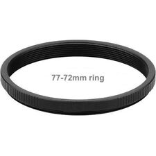 77-72mm step up ring to use 72mm filters on 77mm thread lenses