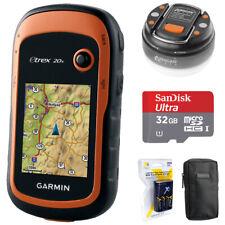 Garmin eTrex 20x Handheld GPS (010-01508-00) with 32GB Accessory Bundle