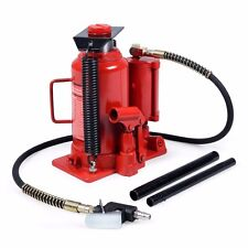 20T Ton 40,000lb Air and Hydraulic Bottle Jack Heavy Duty Auto Truck Repair Lift