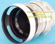 ZEISS PANCOLAR 1.8/80mm ZEISS Flektogon 2.4/35mm fit E49 Metal Lens Hood 49mm