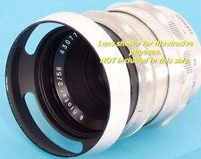 ZEISS PANCOLAR 1.8/80mm ZEISS Flektogon 2.4/35mm fit E49 Metal Lens Hood 49mm