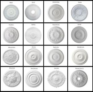 Ceiling Rose Resin Strong Lightweight Design Not Polystyrene Easy Polyurethane