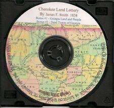 Cherokee Land Lottery - Georgia