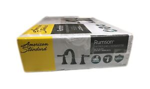 American Standard Rumson 8 in. Widespread 2-Handle Bathroom Faucet Matte Black