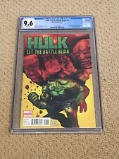 Hulk Let The Battle Begin 1 CGC 9.6 White Pages  (Classic Cover!!)