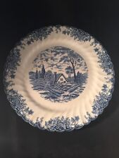 Large Vintage Collectable Fine Staffordshire Ware Myott The Brook Plate