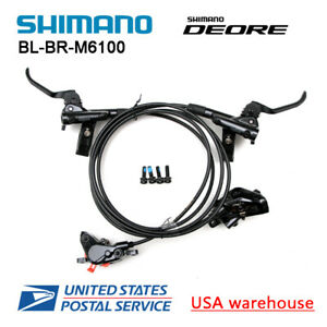 SHIMANO DEORE BR-BL-M6100 Bike MTB Hydraulic Disc Brake Set F&R M6000 (OE)