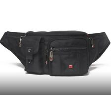 Travel Gear Waterproof Men Waist Bag Swiss Quality Fanny Pack Sport Camping 2