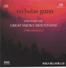 Nicholas Gunn: Through the Great Smoky Mountains - v rare Fortissimo hybrid SACD