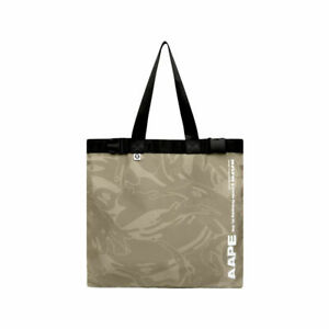 2021 JULY BAPE A BATHING APE - PREMIUM AAPE Tote Bag Authentic New