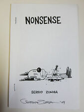 Nonsense by Sergio Zuniga Signed Indie Sicko Comics from NYC!