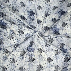 Rayon Batik Fabric By The Yard For Sewing Summer Dress Top Scarf Night Wear