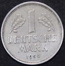 1950 J   Alemania Marca   Cupro-Níquel   monedas   KM monedas