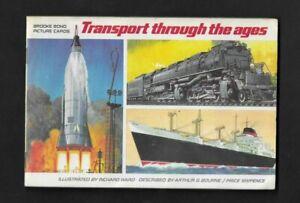 CIGARETTE/TEA CARDS BROOKE BOND 1966 TRANSPORT THRO THE AGES  ALBUM + F/S CARDS