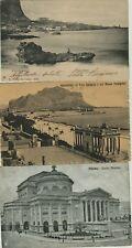 GG439-PALERMO, LOTTO DI 3 CARTOLINE D' EPOCA, 1904-1912-1917