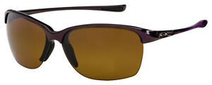 Oakley Unstoppable Sunglasses OO9191-03 Raspberry | Brown Gradient Polarized