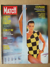 PARIS MATCH 1987 N° 1990 MICHAEL JACKSON. STEPHANIE MONACO. KLAUS BARBIE. REIMS