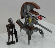 LEGO Star Wars SW0448 Commando Droid Captain & SW0447 Droideka Sniper Destroyer