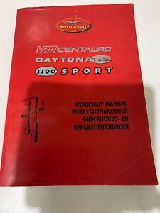 MOTO GUZZI 1997/98 1100i SPORT/DAYTONA RS 1000/V10 CENTURO WORKSHOP MANUAL