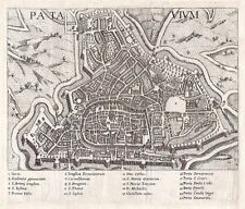 Antique map, Patavium