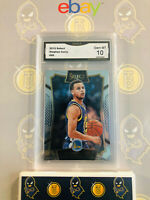 2015 Select Stephen Curry #99 - 10 GEM MT GMA Graded Warriors Basketball Card