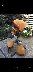 stokke xplory stroller AND accessories