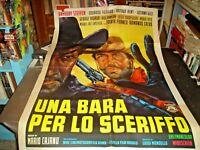 By The Bara For Lo Sceriffo Manifesto 2F Original 1965 A.Steffen E.Fajardo