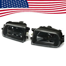 Pair Front Bumper Fog Lights Housing Driving Lamp For BMW E39 528I 540I Z3 97-00