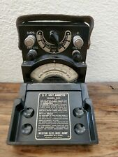 Vintage Weston Electric Inst. D.C volt ammeter model 540 With Carrying Handle.