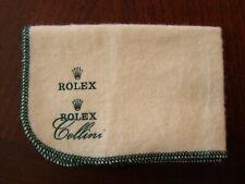 Genuine NOS Vintage Rolex Polishing Cloth Mint