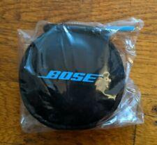 Original BOSE SoundSport Headphones Earphones Bag Pouch Case w Clip-1418CH