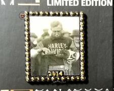 HARLEY DAVIDSON MUSEUM HOG MASCOT 2014 LIMITED EDITION PHOTO PIN