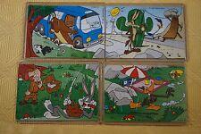 Ü-E i Superpuzzle Looney Tunes 2 100% Orig. und sauber+ 4 BPZ! wie aus Ei