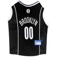 Brooklyn Nets Officially Licensed NBA Dog Pet Mesh Black Jersey NWT Sizes XS-L