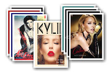 KYLIE MINOGUE - 10 promotional posters  collectable postcard set # 4