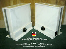 SET Infrarotheizung Mini-Kachelofen. Marmorheizung - 280W = 120°C. 20 Jahre JUBI