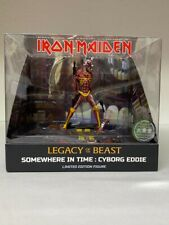 IRON MAIDEN LEGACY OF THE BEAST SOMEWHERE IN TIME CYBORG EDDIE FIGURE DIORAMA