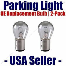 Parking Light Bulb 2-pack OE Replacement Fits Listed Mercedes-Benz Vehicles 7528