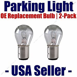 Parking Light Bulb 2-pack OE Replacement Fits Listed Toyota Vehicles - 7528