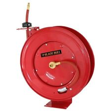 Black Bull 50 Foot Retractable Air Hose Reel w/Auto Rewind AHAR50 Air Hose Reel