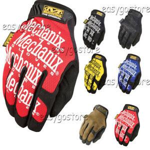 Mechanix Wear Tactical Gloves Military Bike Race Sports Mechanic Airsoft NEW