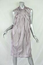 NINA RICCI Womens Lavender Purple Silk Sleeveless Knee-Length Shift Dress 36/4