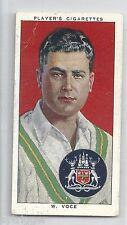 1938 John Player & Sons (29) W. VOCE Nottinghamshire & England