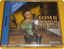 Tomb Raider The Last Revelation videogame Core Dreamcast