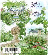 FEUILLET N° F4580 NEUF XX  LUXE - LES JARDINS DE CHEVERNY ET DE VILLANDRY