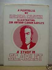 Howard Chaykin: A Study in Scarlet Portfolio (signed & numbered) (USA)