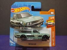 HOT WHEELS 2007 CODE CAR 1968 MERCURY COUGAR GREEN SHORT CARD W+